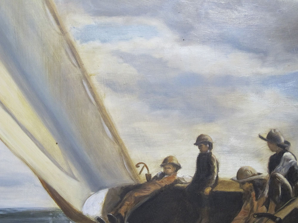 an analysis of winslow homers painting breezing up Hand-painted oil painting reproduction of breezing up also known as a fair wind by winslow homer - museum quality oil painting on artist grade canvas free shipping.